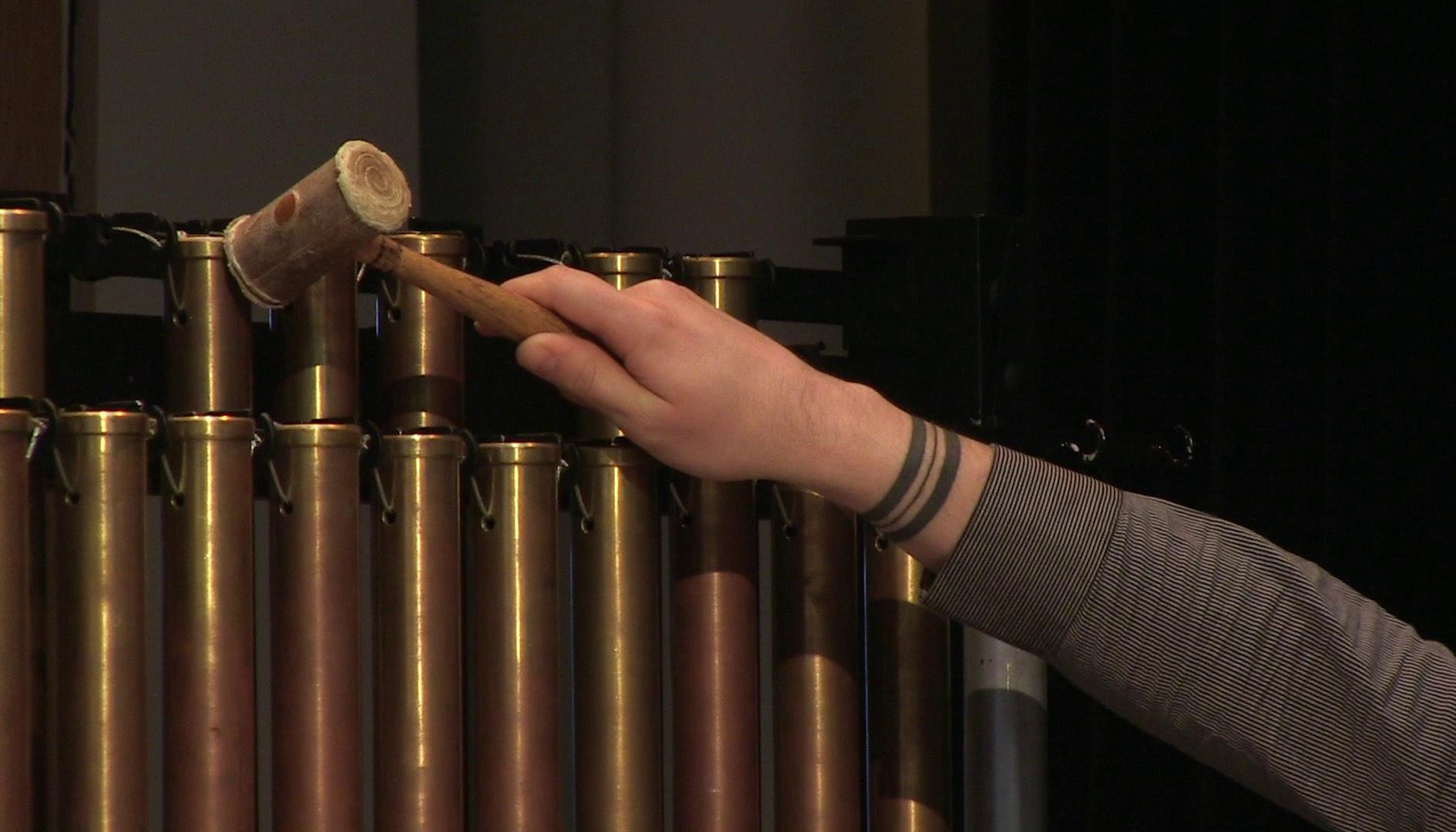 Photo of tubular bells